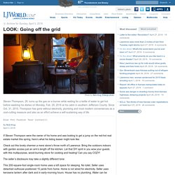 LOOK: Going off the grid