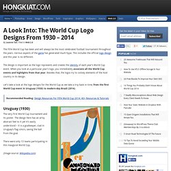 A Look Into: The World Cup Logo Designs From 1930 – 2014