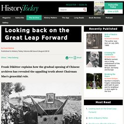 Looking back on the Great Leap Forward