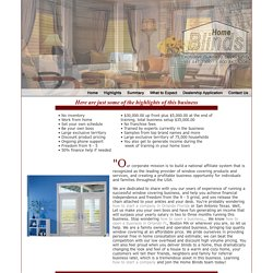 Steps to Success in the Window Covering Business