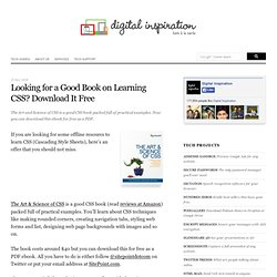 Looking for a Good Book on Learning CSS? Download It Free