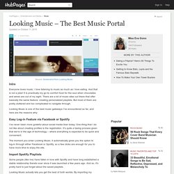 Looking Music – The Best Music Portal