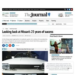 Looking back at Nissan's 25 years of success