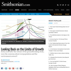 Looking Back on the Limits of Growth