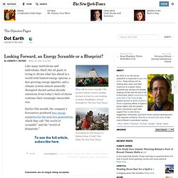 Two Energy Scenarios