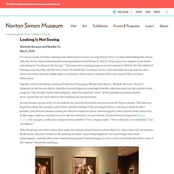 Looking Is Not Seeing » Norton Simon Museum