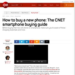 Phone Buying Guide