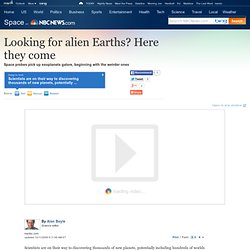 Looking for alien Earths? Here they come - Space- msnbc.com 3.6