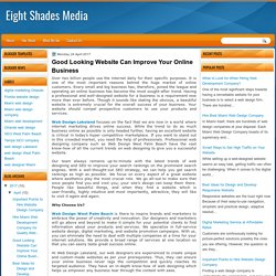 Good Looking Website Can Improve Your Online Business