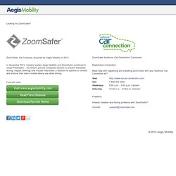 ZoomSafer Prevents Distracted Driving