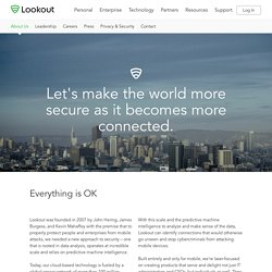 About Us - Lookout Mobile Security