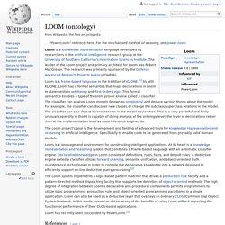 LOOM (ontology)