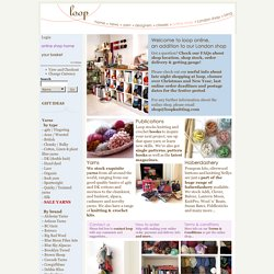 Loop's online knitting shop