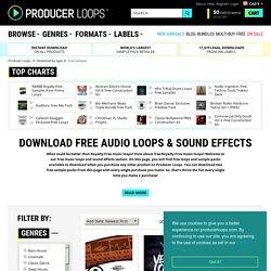 Music, Audio & Sound Effect Downloads