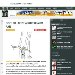 FollowTheMoney: Roze FD loopt AEGON blauw aan