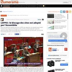 LOPPSI : le blocage des sites est adopté par l'Assemblée - Numer