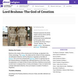 Lord Brahma: The God of Creation - Hinduism