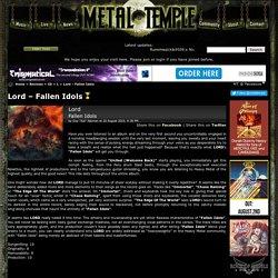 Lord – Fallen Idols review