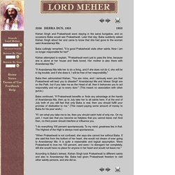 Lord Meher Online Edition Page 3336