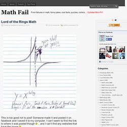 « Lord of the Rings Math »