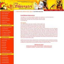 Lord Shiva's Assurance