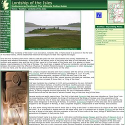 Lordship of the Isles Feature Page on Undiscovered Scotland