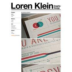 Loren Klein - Graphic Design Portfolio - Print