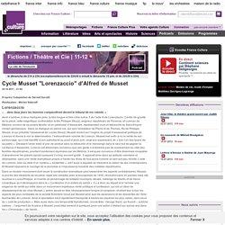 "Cycle Musset ""Lorenzaccio"" - Création Radiophonique"