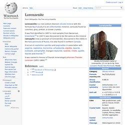 Lorenzenite