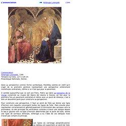 Ambrogio Lorenzetti : L'annonciation