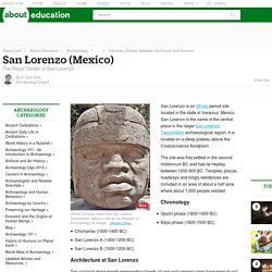 San Lorenzo - Olmec Civilization in Veracruz