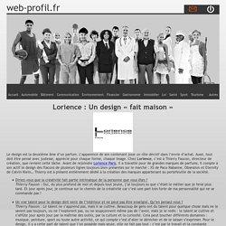Lorience : Un design « fait maison » - web-profil.fr