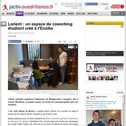 AB 4 - Lorient, un espace de coworking étudiant à l'Ensibs
