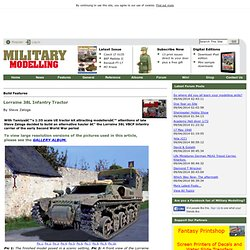 Lorraine 38L Infantry Tractor - Build Features