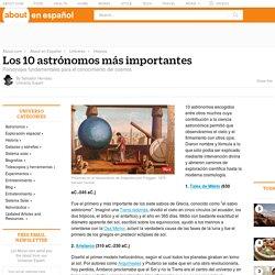 Los 10 astrónomos más importantes