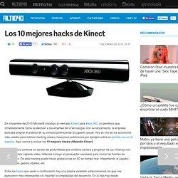 Los 10 mejores hacks de Kinect
