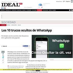 Los 10 trucos ocultos de WhatsApp