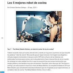 Los 5 mejores robot de cocina
