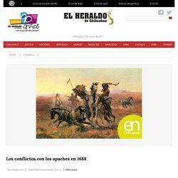Los conflictos con los apaches en 1688