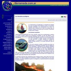 Los desastres ecológicos