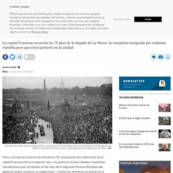 Los españoles que liberaron París