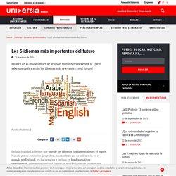 Los 5 idiomas más importantes del futuro