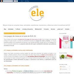 Los juegos de mesa en el aula de ELE (II)