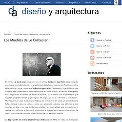 Los Muebles de Le Corbusier