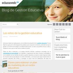 Los retos de la gestión educativa