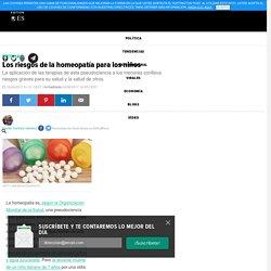 Los riesgos de la homeopatía para los niños