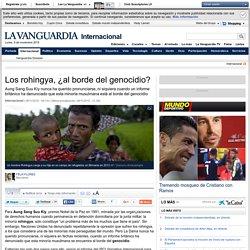 Los rohingya, ¿al borde del genocidio?