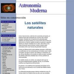 Los satélites naturales