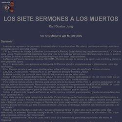 Los Siete Sermones a los muertos
