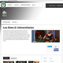 Los Sims 2: Universitarios - EA Play